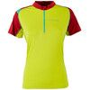 La Sportiva Forward Short Shleeve Shirt Women Sulphur/Berry